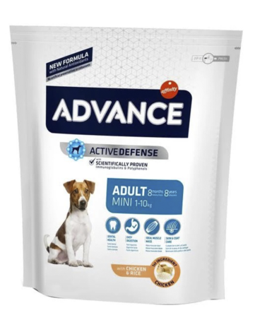 advance defensa adulto mini