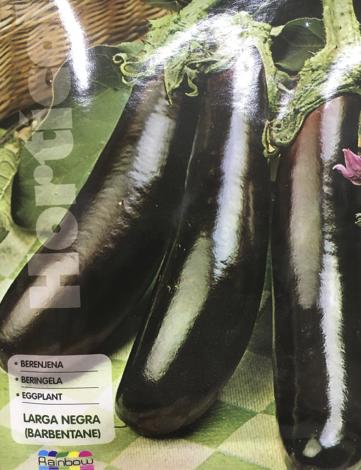 berenjena larga negra (barbentane)