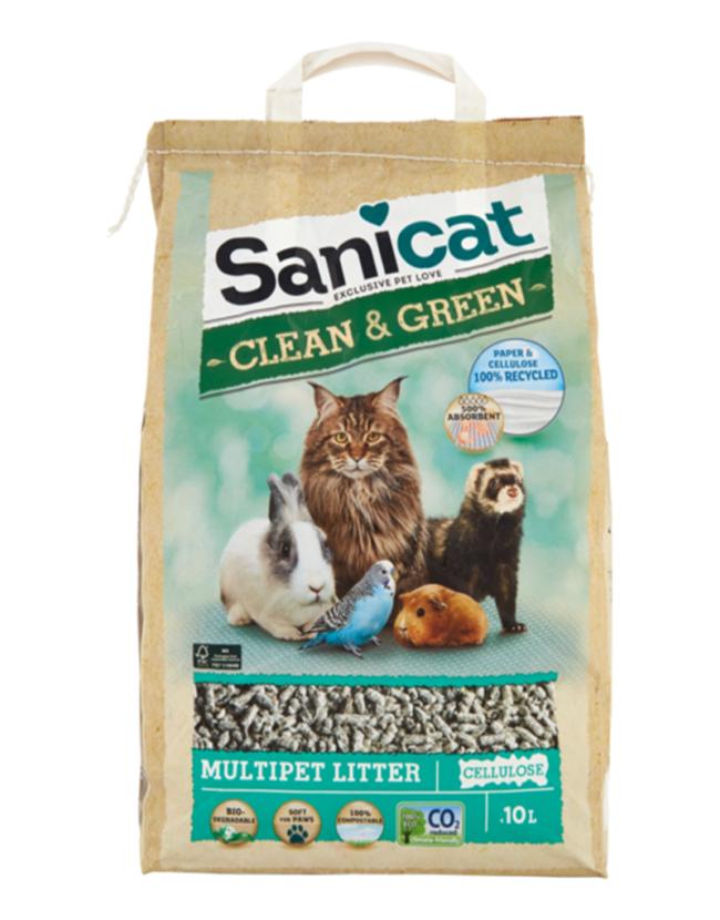 sanicat clean&green