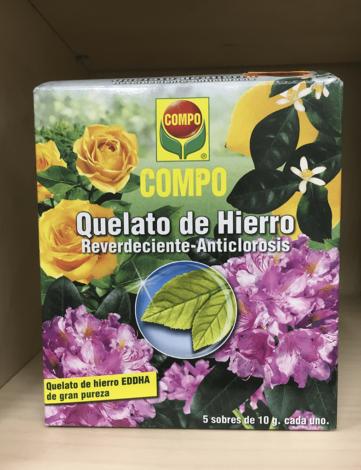 COMPO - QUELATO DE HIERRO (REVERDECIENTE-ANTICLOROSIS)